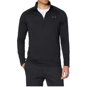 Under Armour NWT Men's Tech 1/2 Zip Charcoal Med